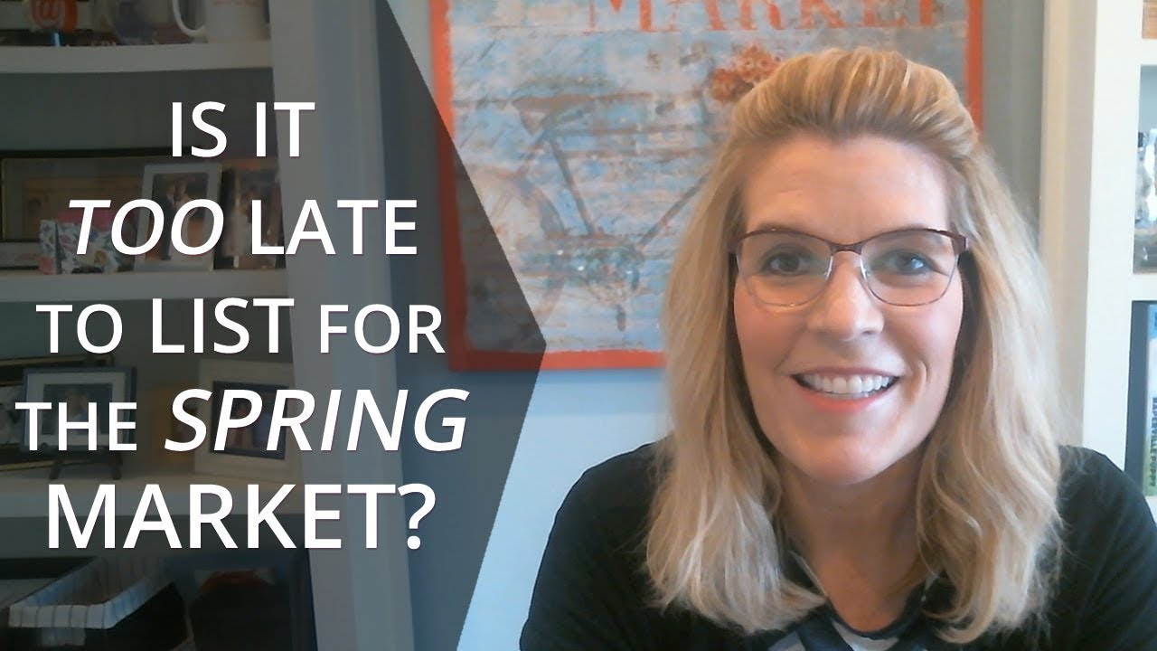 Why You Can Still Sell Quickly and for Top Dollar in Our Spring Market