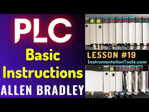 PLC Training 19 - Allen Bradley PLC Programming Basics - YouTube