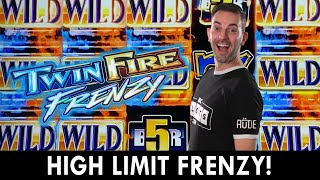 High Limit FRENZY 🔥 Twin Fire & Total Meltdown at Hard Rock Cherokee 🎰#ad