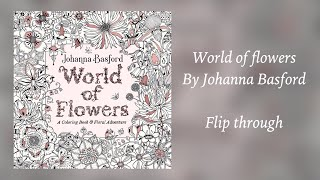 World Of Flowers A Coloring Book And Floral Adventure Hai Trấn