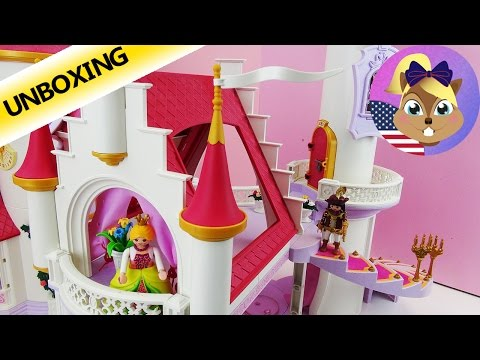 Playmobil Knights Castle Set 6001 Unboxing And Full Toy Build