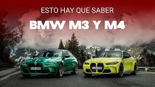 Los BMW M3 y M4 2021 son fieles a la vieja escuela: 510 hp, tracción trasera... ¡y caja manual!