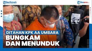 Ditahan KPK, Bupati Bandung Barat Aa Umbara Bungkam dan Menunduk