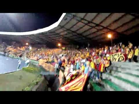 """LOBO SUR  PEREIRA en ARMENIA 05/04/2016  FUIMOS LOCALES"" Barra: Lobo Sur • Club: Pereira"