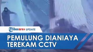 Video Rekaman CCTV Dua Pemulung di Cikarang Dianiaya dan Uangnya Dicuri, Satu Meninggal Dunia