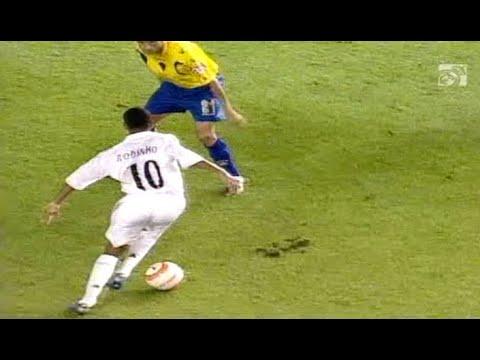 Robinho Sensational Debut for Real Madrid (28/08/2005) English Commentary