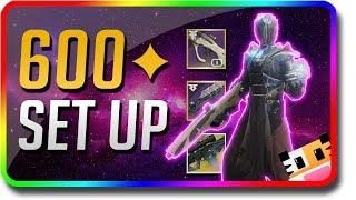 Destiny 2 - 600 Power Set Up & How To Power Level Fast & Rank Up Fast 600 Power (Destiny 2 Forsaken)