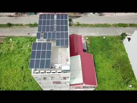 Khải Minh Solar thi công 16kw cho công ty Băng Dương