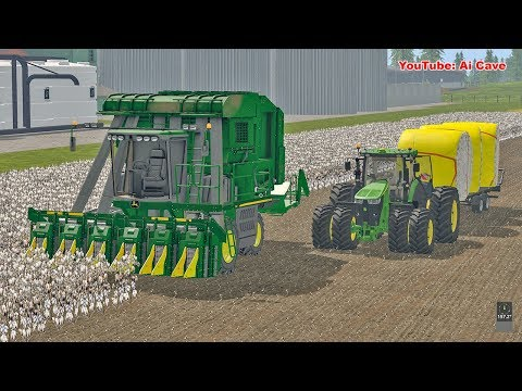 New Cotton Harvester - Farming Simulator 2017 American Map