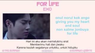 EXO - FOR LIFE [MV & EASY LYRIC ROM+INDO]