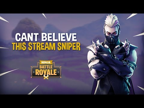 You Wont Believe What This Stream Sniper Does...