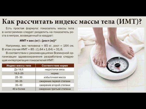 ИМТ.Индекс Массы Тела