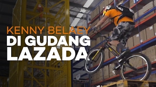 Kenny Belaey Di Gudang Lazada