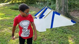 Kids Costume - Retractable Wing Design Test