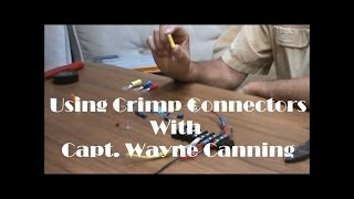 Using Crimp Connectors, Boat Repair, Boat Wiring