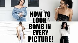 HOW TO LOOK GOOD IN EVERY PICTURE | & Modeling tips