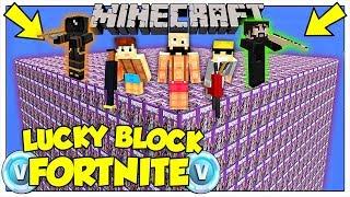 LA SFIDA DEI LUCKY BLOCK GIGANTI DI FORTNITE! - Minecraft ITA