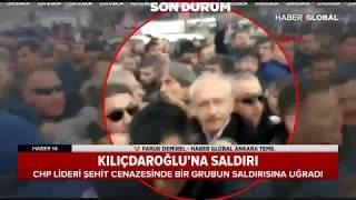 Kılıçdaroğlu'na Saldırı Anı - Ankara Çubuk'ta CHP Lideri Kemal Kılıçdaroğlu'na Çirkin Saldırı