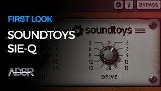 Soundtoys Sie-Q - First Look