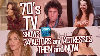 70's TV Shows : 34 Actors And Actresses Nowadays | Stars Then And Now
