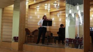 Johannes Brahms - Violin sonata No. 2 a minor op. 100 3 mvt
