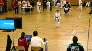 preview picture of video 'Michelle Haseitl 9 Technik Cup 2014 Neubiberg'