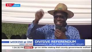 Section of ODM leaders have expressed dismay over sentiments expressed  by Deputy President