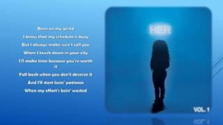 "Video thumbnail of ""H.E.R.- Losing (Lyrics)"""