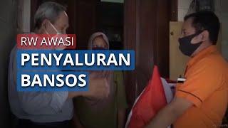 Distribusi Bansos Presiden, Ketua RW Cempaka Baru Kawal Penyaluran Sembako, Sebut Paket Komplit
