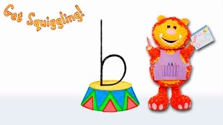Get Squiggling Letters | Letter B
