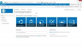 Sharepoint 2013 - Teamwebsite und Aufbau (4/4)