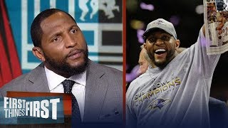 Ray Lewis gives passionate speech on HOF nomination: 'Never give up' | FIRST THINGS FIRST