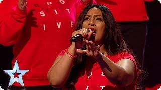 WOW! B-Positive Choir put on the GREATEST show! | Semi-Finals | BGT 2018
