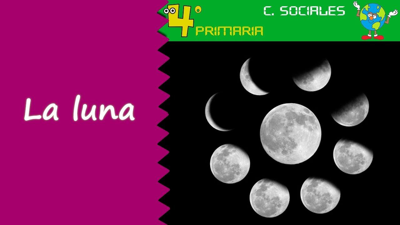 Ciencias Sociales. 4º Primaria. Tema 1. La luna