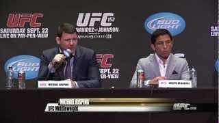 UFC 152: On Sale Presser Highlights
