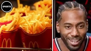 Kawhi Leonard Forces McDonalds To Give Away Millions Of Fries