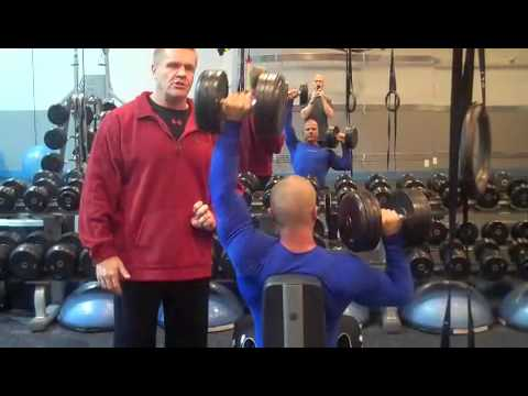 Standing Alternating Dumbbell Shoulder Press