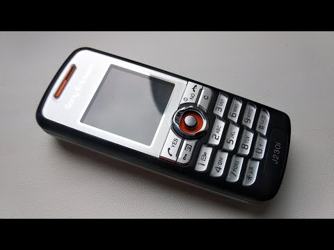 SONY ERICSSON J230i - RINGTONES / DZWONKI - Komórkowe zabytki #163 ( Vintage mobile phones )