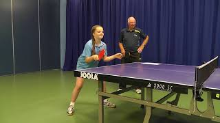 How To Play A Table Tennis Forehand Drive:  Beginners Level