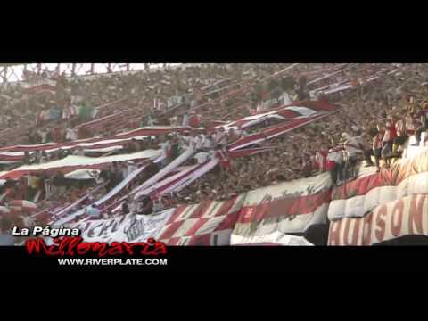 """""""""""Yo te quiero River Plate"""", en Nuñez vs Independiente, Clausura 2009"""" Barra: Los Borrachos del Tablón • Club: River Plate • País: Argentina"""