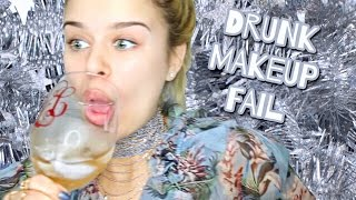 Drunk (blacked Out) Makeup Fail