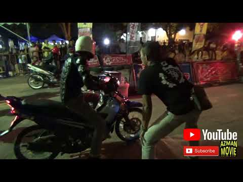 PART 2 YAMAHA 125 STD BODY Drag Racing Kubang Menerong
