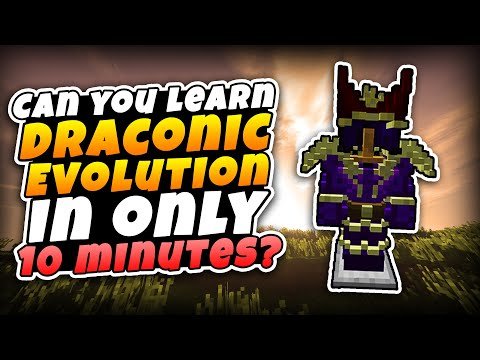 Basic Tutorial on Draconic Evolution 1.12.2!! IN 10 MINUTES!!!