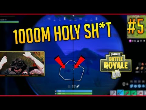 CRAZY 1000M SNIPER KILL – Fortnite Battle Royale WTF & Funny Moments #5