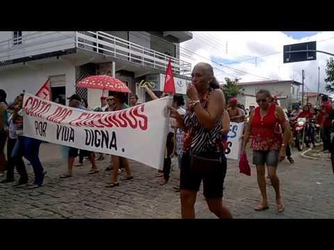 Manifestação em Apuiarés 28/04/2017