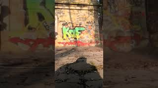 Graffiti entfernen – Zeitraffer