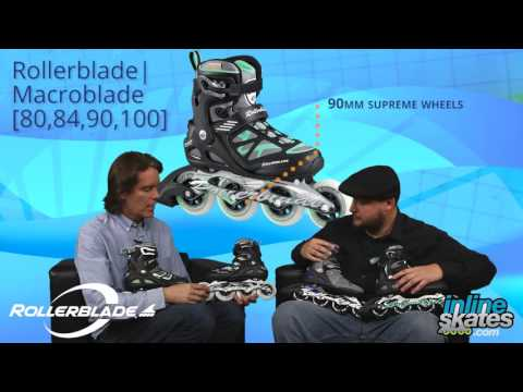 Video: 2016 Rollerblade Macroblade Series Womens Inline Skate Overview by InlineSkatesDotCom