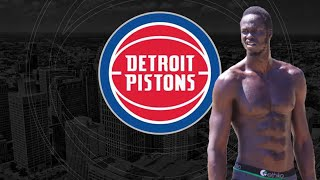 Detroit Pistons Thon Maker Finally Adds Some Muscle!