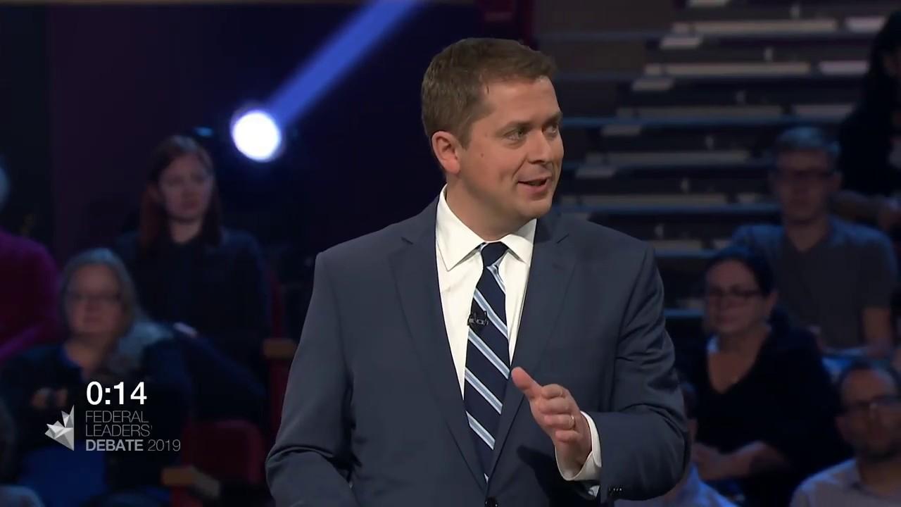Maxime Bernier debates Andrew Scheer about extremism in Canada