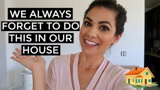 SOMETHING WE ALWAYS FORGET TO DO!! || MAINTAINING YOUR HOME || Style Mom XO - Video Youtube